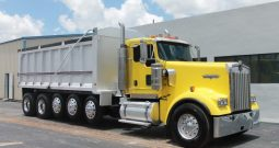 2013 KENWORTH T800 QUINT DUMP TRUCK IN MANASSAS, VA